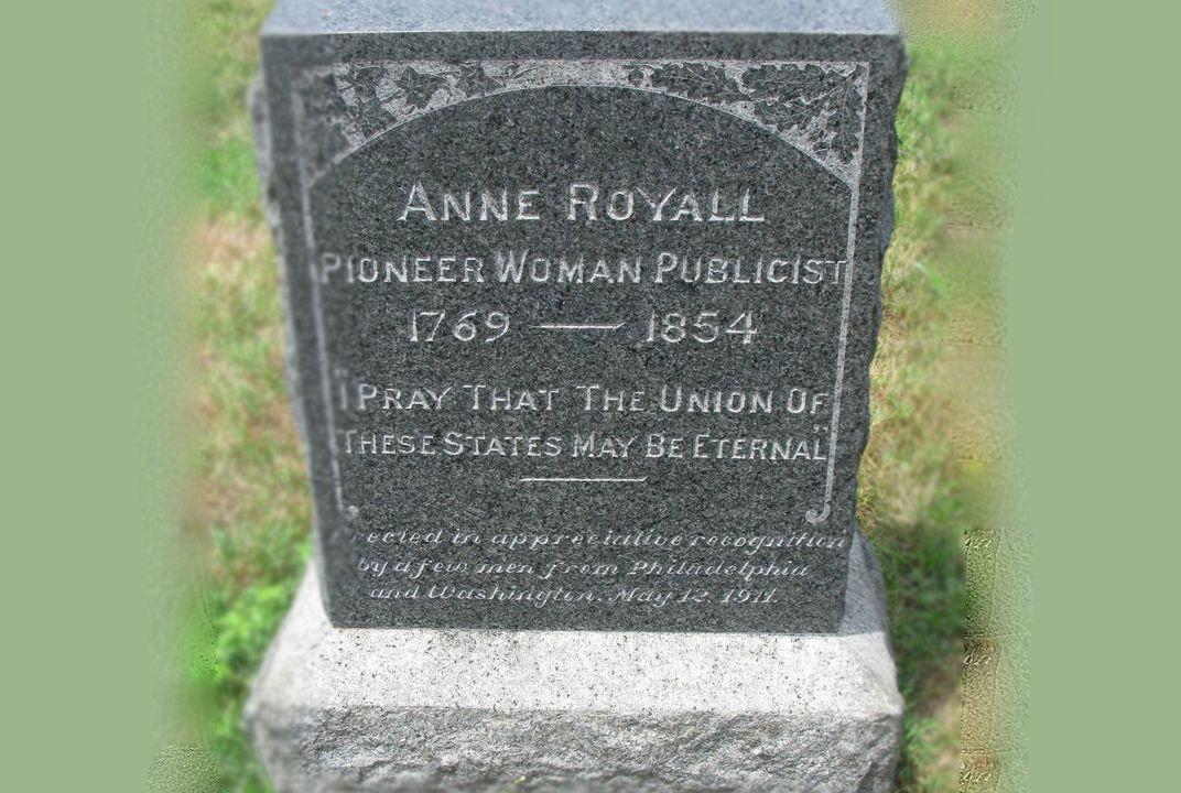 Anneroyallheadstone